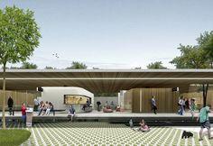 Galeria - Menção Honrosa no Concurso para a Requalificação do Mercado Público de Lages-SC / Estudio BRA Arquitetura + Mono Arquitetos - 1