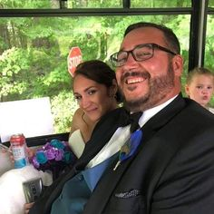 The bride and groom with a photo bomber in the back. Behind The Scenes, Groom, Bride, Wedding Bride, Bridal, Grooms, The Bride, Brides