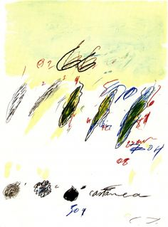 Cy Twombly: Natural History Part II, Castanea Sativa, 1975-76