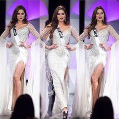 """𝒜𝓏𝓉𝑒𝒸𝒶 𝒷𝑒𝒶𝓊𝓉𝒾𝑒𝓈💫 on Instagram: """"Cuando las ganas de ganar se notan 😍 Para mí uno de los mejores vestidos que ha llevado una mexicana a Miss Universe. Una actitud…"""" Pageant, Instagram, Gowns, Best Dressed, Mindset, Get Well Soon"""