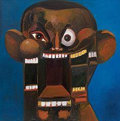 Power Portrait by George Condo