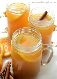 Vanilla Cider Wassial recipe the whole family will love #spon
