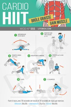 Cardio HIIT: burns fat, abs and strength - Workout at Home Hiit Abs, Hiit Workout At Home, Gym Workouts, At Home Workouts, Cardio Hiit, Kick Boxing, Yoga Challenge, Sport Volleyball, Chakra Yoga