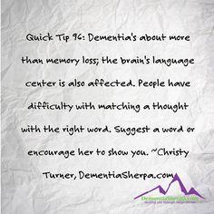 dementia, dementiasherpa, alzheimers, caregivers, carepartners, quicktips, approach, elderly, parents, care, love