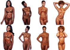 Nubian Skin Lingerie! cuz 'nude' isn't true for everyone.