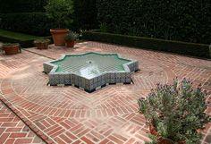 @Charmaine Zoe Fountain in Lotusland, Santa Barbara, CA