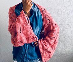 El blog de Dmc  Patrón del bolero-bufanda de Knit and pepper con el algodón  invernal Amie d5083c4a33d