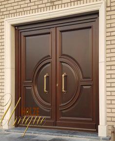 Modern Entrance Door, Main Entrance Door Design, Wooden Front Door Design, Double Door Design, Entrance Doors, House Main Door Design, Home Door Design, Door Gate Design, Door Design Interior