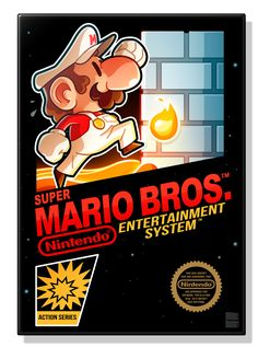Super Mario Bros. 1, 2, & 3 - Created by Mathieu Beaulieu You can follow the artist on Tumblr, Twitter, and Facebook.