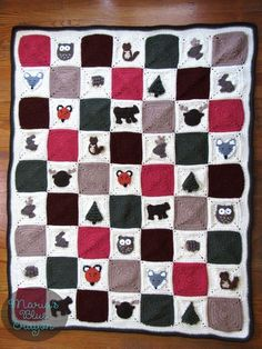 Woodland Afghan Series | Free Crochet Patterns
