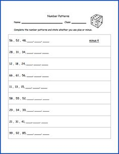 math worksheet : 1000 images about 2nd 3rd grade math on pinterest  : Grade 4 Math Patterning Worksheets