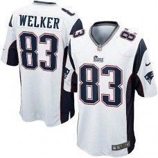 Mens White NIKE Limited New England Patriots http://#83 Wes Welker NFL Jersey$89.99