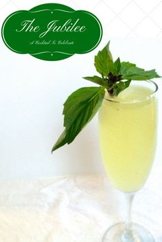 A delicious celebratory cocktail with gin, Thai basil and champagne. If you like the French 75, you'll love this.