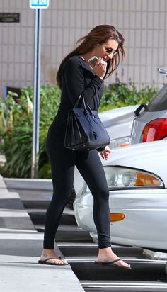 Lea Michele Style – Out and about in Hollywood
