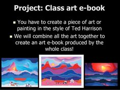 Art Class presentation for Spanish students about Canadian Artist Ted Harrison including project ideas Kids Art Class, Art For Kids, Class Presentation, Thematic Units, Project Ideas, Projects, Classroom Crafts, Canadian Artists, Online Art
