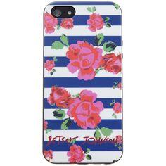 Betsey Johnson iPhone Case, Rosie Garden iPhone 5 found on Polyvore