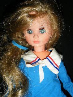 "Vintage 1968 736 Italy Furga IC Italocremona Corinne 14"" Fashion Doll Mod Moda  $40"