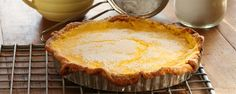 Maggie Beer's Lemon Curd Tart with Sour Cream Pastry Chef Dishes, Dishes Recipes, Beer Recipes, Lemon Recipes, Dinner Dishes, Food Dishes, Baking Recipes, Cake Recipes, Dessert Recipes