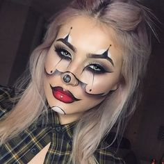 10 Terrifying Halloween Makeup Looks You Can Produce With Makeup You Already Have | Pinkous