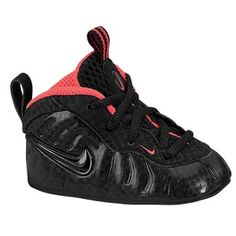 fae739f7f237ba Nike Lil  Posite One Baby Foamposite Infant Black Anthracite 2C ...