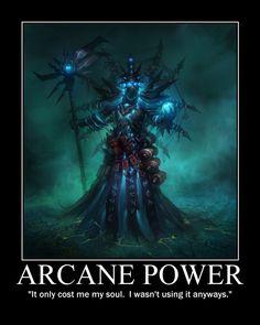 Arcane Powerfrom The Looney DM
