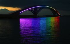 Taiwain's Breathtaking Rainbow Bridge - My Modern Metropolis