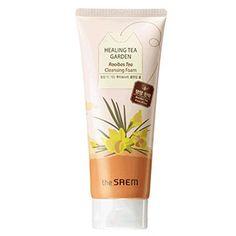 Healing Tea Garden Rooibos Cleansing Foam Skin elasticity 150ml Korea Cosmetic #TheSaem