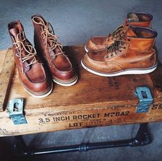 RED WING 1907 & 875