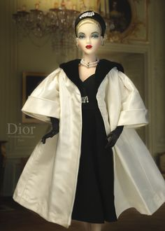 "JAMIEshow Gene Marshall ~ ""J'Adore"" wears Dior's Luxmbourg coat by D.A.E. Originals ~ Image and styling by Tom Logan ~ The Studio Commissary/kw"