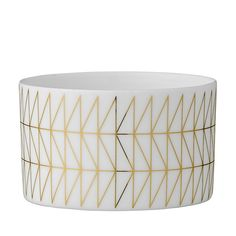 Ceramic Tealight Holder White & Gold geometric design *Please note plant option is available in store or for pick up only* Gold Pattern, Tea Light Holder, Home Gifts, Rose Quartz, Tea Lights, Decorative Bowls, Minimalism, Candle Holders, White Gold