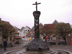 vor der andreaskirche-blick andreaspassage hildesheim