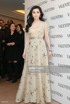 Actress Fan Bingbing attends the opening activity of Valentino flagship store on February 5, 2015 in Hongkong, China.
