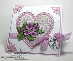 Nice card for Mother's Day or birthday card for older female relatives.