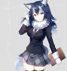 Safebooru is a anime and manga picture search engine, images are being updated hourly. Kawaii Anime Girl, Loli Kawaii, Anime Wolf Girl, Anime Girl Cute, Beautiful Anime Girl, Anime Art Girl, Pet Anime, Anime Animals, Anime Neko
