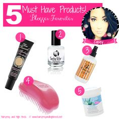5 Must Have Products {Blogger Favorites}