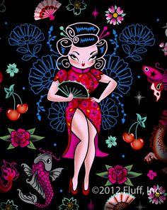 Fluff Geisha Gal