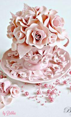 Teacup cupcake ~ Debbie ❤️