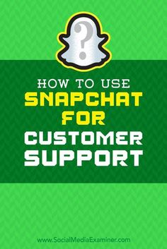 Snapchats text, video, and phone chat features allow you to support customers in the format they prefer.