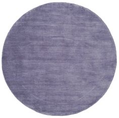 Alfombra Handloom - Violeta claro Ø 150 cm * Espesor aprox: 11 mm Pelo: lana . Lana, Modern, Carpet, Teal, Kids Rugs, Home Decor, Rugs, Blonde Hair, Indian