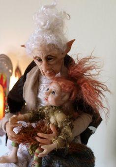 Laurie Scott nanny doll