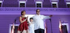 El gobernador de Veracruz, Javier Duarte de Ochoa llevo a cabo el Tercer Informe de Gobierno en compañía de su familia y gabinete para hablar de su trabajo con transparencia.