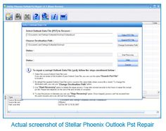 Repair and Recover Outlook PST Files