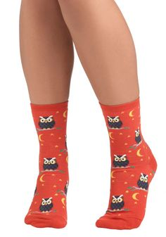 ModCloth owl,socks . I am thinking Christmas right now   another cool stocking stuffer .