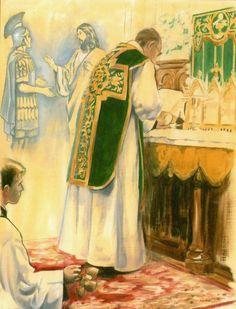 Domine non sum dignus Santa Missa de Sempre - Imagens - Associação Santo Atanásio