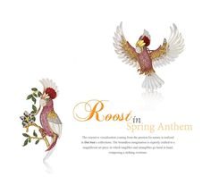 #Roost in Spring Anthem #passion for nature #tangibles and intangibles #Dai Sun Jewellery CoLtd #HKJE Issue 69 #BrandLeader