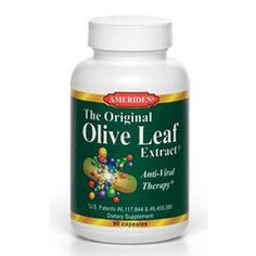 The Original Olive Leaf Extract is a natural antibacterial, antifungal, antiviral extract produced from the leaves of olive tree