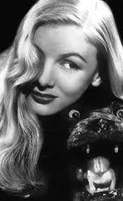 1950s movie star Veronica Lake
