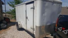 I have a 2004 Pace Enclosed Trailer With Back Ramp and side door. 6x12 Enclosed Trailer, Enclosed Utility Trailers, New Tyres, Side Door, Enclosed Cargo Trailers