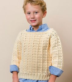 Child's Fisherman Pullover Sweater