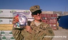 Military Missions supports our troops!
